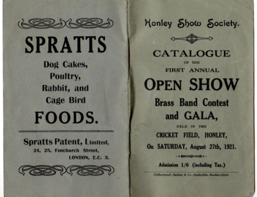 Honley Show 1921 – 2021 – A History